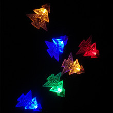 YIYANG Xmas Tree Solar Power String Lights LED Waterproof Fairy Fence Home Garden Patio String Light Lawn Christmas Lamps(China)