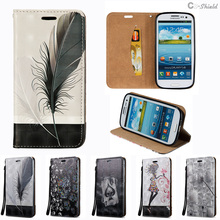 3D Flip Case for Samsung Galaxy S3 Neo S 3 Duos i9300 i 9300 i9301 i9300i GT-i9300 GT-i9300i Case Phone Bag Leather Cover i9305n