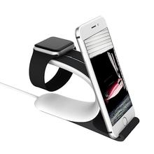 Mobius For Apple Watch Charging Stand Mount Charge Dock for iPhone 6 6s Plus iPad Mobile Phone Tablet Smartphone Desk Holder(China)
