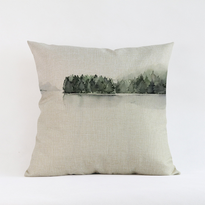 Tropical-Plants-Palm-Leaves-Cactus-Cushion-Pillow-Case-Hand-Painting-Green-Plants-Sofa-Throw-Pillow-Cover (1)