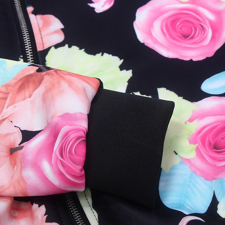 2017 Women Spring Summer Thin Jacket Coat Vintage National Ethnic Floral Print Lady Slim Coat Jackets Long-sleeved Jacket Female 11