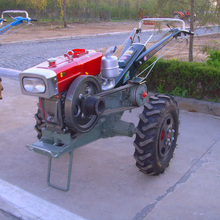 Walking Tractor 15HP Agricultural Transport Machinery Diesel Oil Tractor Farm Implements Auxiliary Machine(China)