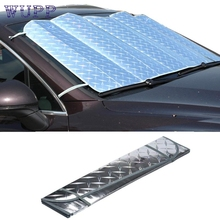 New Arrival 1Pc Casual Foldable Car Windshield Visor Cover Front Rear Block Window Sun Shade jy8