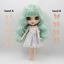 Fortune Days  Nude Blyth  doll  No.230BL136/4006 Mint hair  JOINT body Frosted skin Factory Blyth