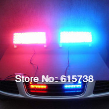 Car flash lamp 96led strobe light net lights decoration lamp  96 led strobe lights  red and blue color