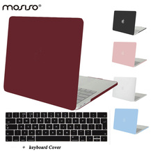MOSISO for Macbook Pro 15 Touch Bar Crystal Matte Hard Cover Case for Mac book Pro 13 Touch Bar Laptop Shell Cove+Keyboard Cover(China)