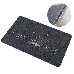 80*120 см Добро пожаловать водонепроницаемый коврик мультяшный МИЛЫЙ Тоторо кухонные ковры для спальни декоративные коврики для лестницы дом...