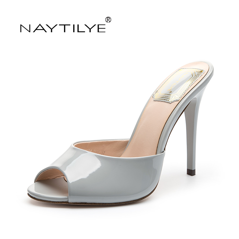 Womens high heels Pumps 2017 Casual  Peep Toe Spring/Autumn Summer Fashion woman shoes 36-41 Free shipping NAYTILYE<br>