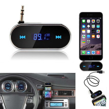 Practical Car Kit Wireless FM Transmitter MP3 Player USB SD LCD Remote Handsfree Car Accessories(China)