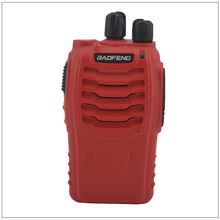 2Pcs/Lot Baofeng BF-888S Color Red UHF 400-470MHz 16CH Portable Two-way Radio for Ham,hotel,Drivers