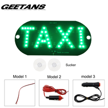 GEETANS Large Size Windscreen DIY DC12V 45LED DRL Car Taxi Meter Cab Sign Light Lamp Bulb 4 Colors for BMW Audi Ford Taxi Car H