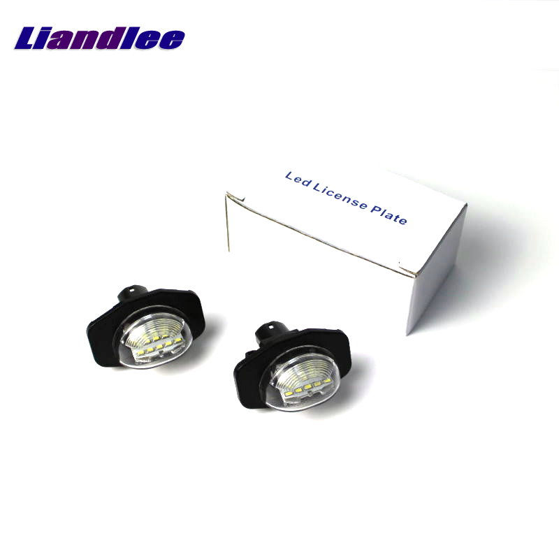 Liandlee LED Car License Plate Light / Number Frame Lamp For Toyota Corolla 2007~2016 / Good Quality LED Lights<br>