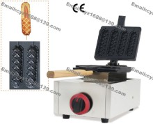 Free Shipping Stainless Steel Industrial Gas Lolly Waffle Maker Machine for Sale(China)