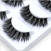 Luxry Thick False Eye Lash 100% Real 3D Mink Party Eyelashes 5 Pairs Eyelash Makeup Kit Professional Lashes Maquiagem Cilios