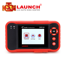 2017 Launch X431 CRP123 Creader CRP 123 Update Online ABS SRS Transmission and Engine X-431 obd2 OBDII Code Scanner(China)