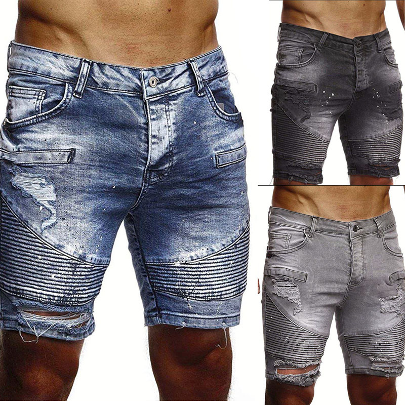 Men Short Clothing Jeans Brand New-Fashion Leisure title=