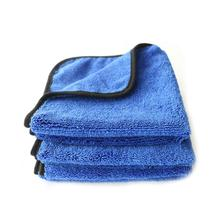 Car Care Auto Wax Polishing Detailing Wash Towels Microfibre Cleaning Cloth Car Washing Drying Towel Super Thick Plush
