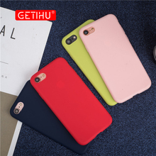 Buy GETIHU Cases Apple iPhone X 8 7 6 6S Plus Case Luxury Soft Back Coque Cover Silicone Back Cover Case iPhone6 iphone7 7Plus for $1.27 in AliExpress store