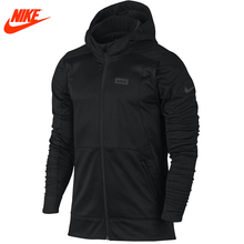 Intersport Authentic Nike men's LeBron James sports windproof hooded Black jacket(China)