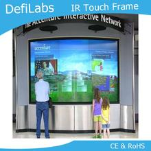 "DefiLabs 10 points 49"" IR Infrared Touch Screen Overlay without glass for interactive bar system, ads(China)"