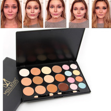 Miss Rose makeup set 20 colors concealer palette face base foundation cream full cover acne brighten contour palette MS121(China)