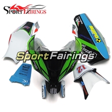 Fairings Kawasaki ZX10R Year 2011-2015 11 12 13 14 15 Sportbike Racing Fiberglass Motorcycle Fairing Kit Bodywork White Green