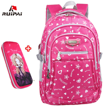 RUIPAI 2017 Oxford School Bags for Teenage Girls Waterproof Women School Backpack Fashion Student Book Bag Children Backpacks(China)