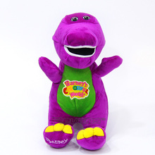 Barney & Friends The Purple Dinosaur Barney Plush Toys Soft Stuffed Animal Dolls Gifts for Children 12inch 30cm(China)