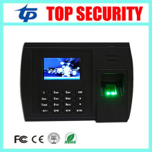 Free shipping linux system TCP/IP fingerprint time attendance optional printer, WIFI, GPRS and ADMS function with free software(China)