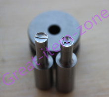 6mm breaking die mold punch set for stamp Customized punch for tdp0/1.5/5 tablet press machine(China)