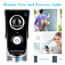WiFi Smart Video Doorphone 0.3Mega Pixels Wireless Video Doorbell Intercom System Rainproof Android IOS APP Remote View