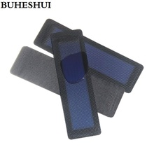 BUHESHUI 0.5W 1.5V Flexible Solar Cells of Amorphous Silicon Can Foldable Very Slim Solar Panel 12pcs Wholesale Free Shipping(China)
