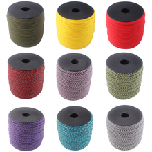 252 Colors 100FT/Spools Paracord 550 Paracord Rope Type III 7 Stand Parachute Cord Outdoor Camping Survival Wind Rope Wholesale