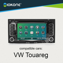 IOKONE  Car DVD autoradio video Player multimedia for VW Touareg With Radio,Bluetooth,GPS,iPod,Steering Wheel Control,Canbus