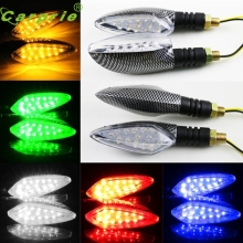 New Arruval 1 pair of Universal LED Motorcycle  Indicators Lights/lamp at6
