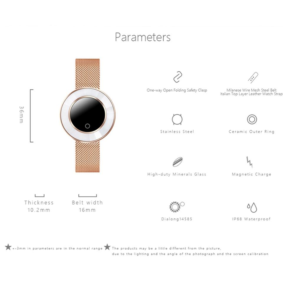 women smart fitness bracelet X6 8