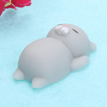 Kawaii Japan Mochi Animal Lazy Cat Mini Decompress Squishy Squeeze Soft Slow Rising Healing Toy Funny Kids Children Toys Gift