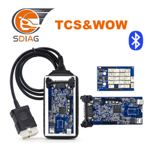 A++ quality WOW SNOOPER TCS pro V5.008R2 bluetooth TCS with best blue PCB tcs pro diagnostic tools tcs pro plus(China)