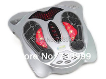 Free shipping (2pcs/lot) Hot health care product,infrared heating,blood circulation therapy, magnetic electric foot massager(China)