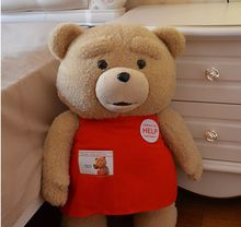 58cm ted teddy bear movie, huge teddy bear pillow, giant teddy bear ted plush toy, large teddy bear stuffed animal doll