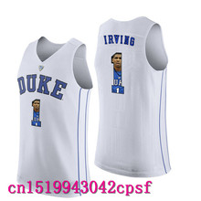 2017 Hot Sale  Kyrie Irving #1 Duke Blue  Basketball Jerseys High Quality