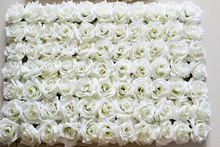EMS Free Shipping 10pcs/lot Artificial silk rose flower wall wedding background lawn/pillar flower home market decoration(China)