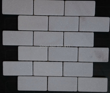 "wall tiles 12x12"" natural white marble stone mosaic mesh mounting 48x98mm kitchen backsplash bathroom shower  tiles"