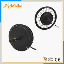 Free shipping 48V 1000W Electric Bicycle Motor Ebike Brushless,Gearless Hub Motor for Rear Wheel e-bike conversion Kit(China)