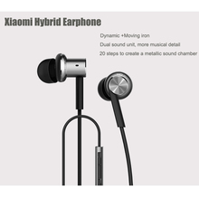 Xiaomi Mi IV Hybrid Earphones Wired Control NEW Original MIC for Android iOS for cell phone For MI4 MI3 Redmi- Silver