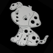66.6x79.5mm Cute Animal Dog Metal Cutting Dies Stencil Craft Embossing Cut Die For DIY Scrapbooking Card Album Photo Decoration(China)