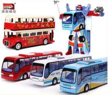 hot sale Alloy London bus model bus children toy gift sightseeing car toys for children Christmas gift Toy car free delivery(China)