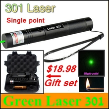 [ReadStar]RedStar 301 high power 1W Red Green Laser set Laser pointer Laser pen single point include 18650 battery & charger