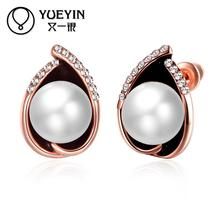 gold plating earrings for women bridal jewelry gold plating earrings gift brincos Long Earrings Anti allergy