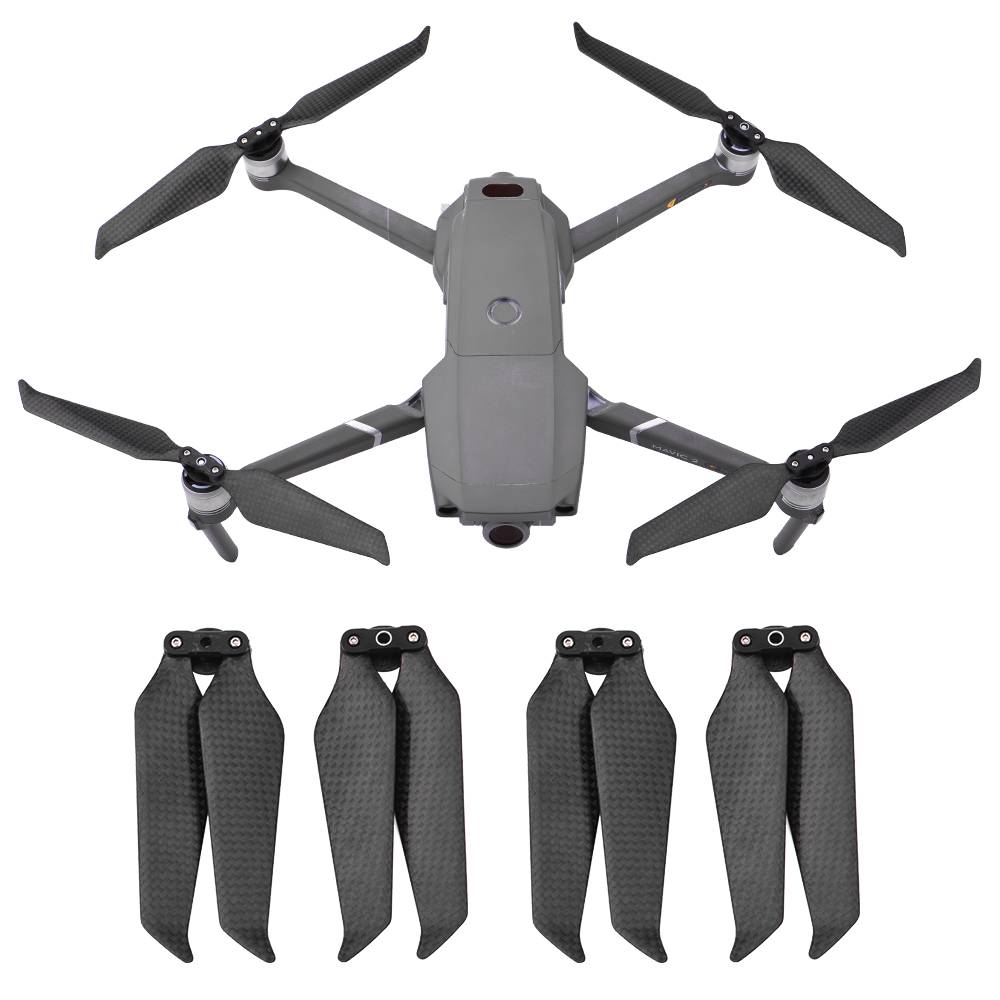 Original 4pcs Propeller Low Noise Quick Release for DJI Mavic 2 Drone Pro Zoom